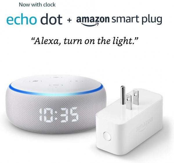 echo dot clock