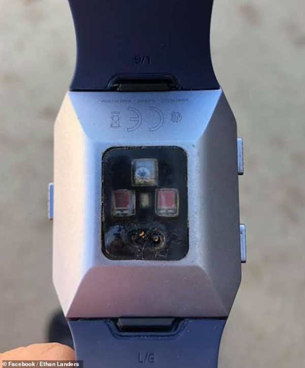 watch burned