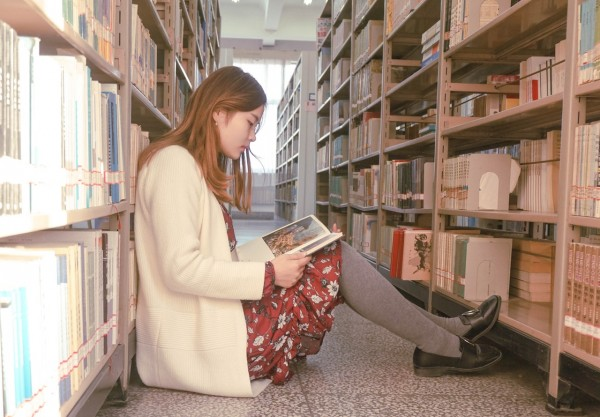 reading alone