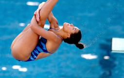 Cook had made record in 2012 when she scored high freestyle moves in 3M Spring board at two separate occasions.
