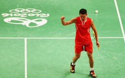Lin Dan and Lee Chong Wei are scheduled to meet in a semifinal match on August 19