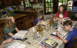 Home-Schooling Offers Basic Curriculum