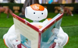 A Reading Robot