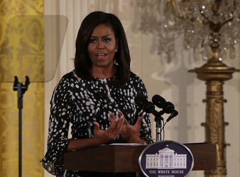 Michelle Obama on Girls' Challenges In Education: Hurdles In Opportunities