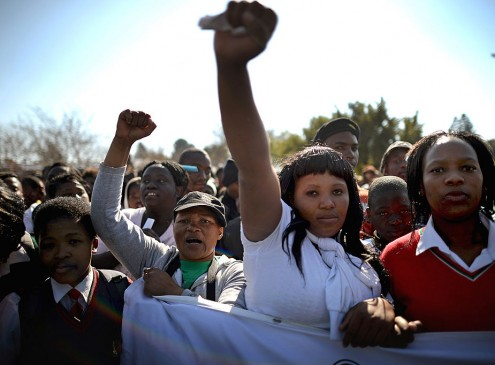 University Students Protest #FeesMustFall: A Violent Week Shakes South Africa to Its Core