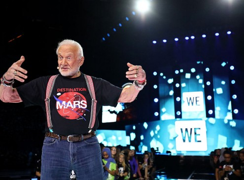 Buzz Aldrin's Bachelor Degree Sent Him To The Moon And South Pole