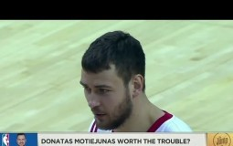 Is Donatas Motiejunas Worth The Trouble? - NBA The Jump