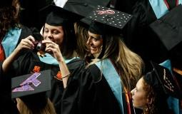 Commencement exercises for post-graduate studies