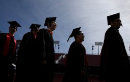 Graduating from college seems to bring equal success opportunities to both rich and poor students, a study says.