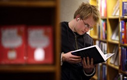 Buying textbooks can be pretty expensive. Borrowing or renting are good alternatives.