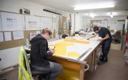 Student Interns At Work