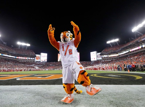 College Mascots Play A Huge Role During Game Day