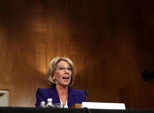 Education Secretary Betsy DeVos Slammed For Criticizing Washington Public School Teachers
