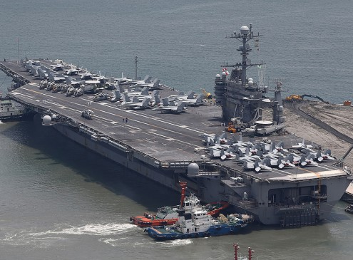 US Navy's Dependence On Aircraft Carriers Shows Sign of Vulnerability