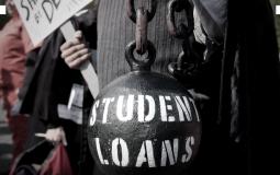 Burden of student loans to college graduates