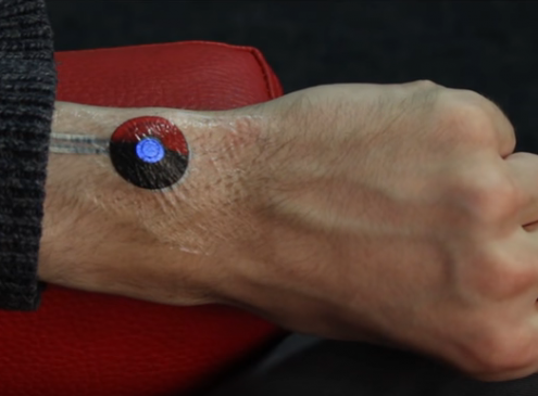 University Research Inks E-Tattoos Contro Devices With a Simple Touch