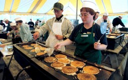 Female student dies after participating at a pancake eating contest