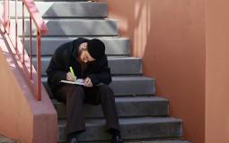 Muslim student in campus