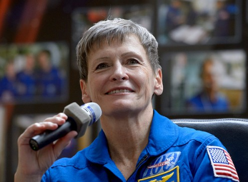 Peggy Whitson Takes Command of the International Space Station for the Second Time