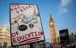 Protests on student debt