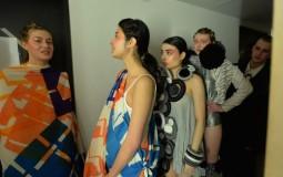 Art school fashion show