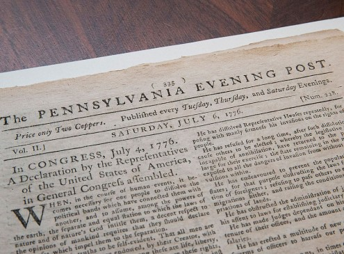 Harvard Researchers Uncover Declaration Of Independence Copy In Small British Town [Video]