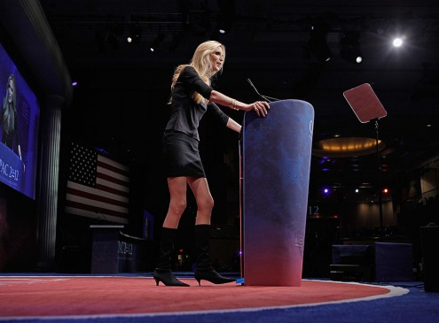 Ann Coulter Says She Was Forced To Cancel Her Speech At Berkeley [VIDEO]