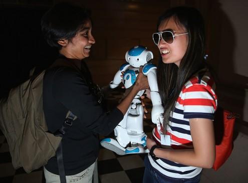 Cornell University's Humanoid Robot Makes North American Debut [VIDEO]