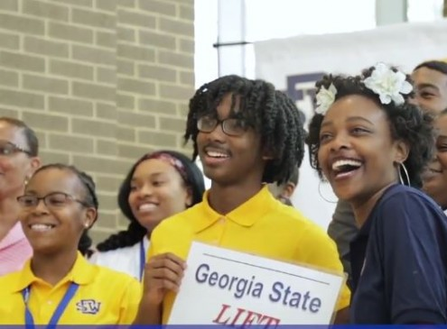 Georgia State University Changes 14 Lives, Gives 100% Scholarship Grants [VIDEO]