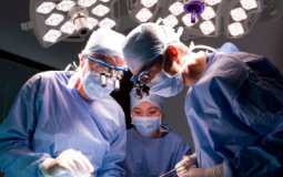 Medical Student in Surgical Procedure