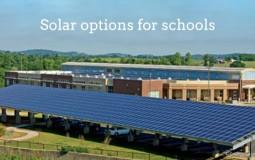 Schools option of using Solar Panels