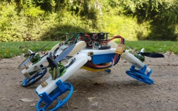 New Flying/Driving Robot Developed at Ben-Gurion University (IMAGE)