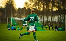 men playing sports