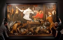 anti-vegan painting