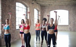 Group of Women in a Gym