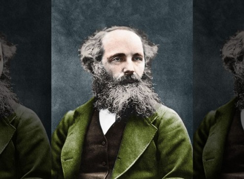 19th Century Scientist James Clerk Maxwell Helps New Scientists Discover Peculiar Light Waves