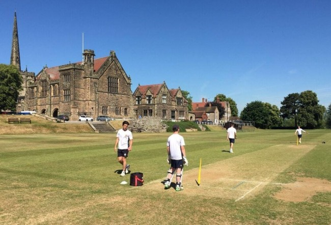 Repton School's Director of Cricket Coaches England Three-Match Test Series Team to Success