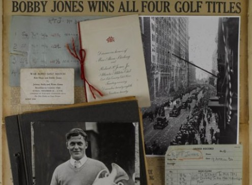 Historian of Golf Legend Bobby Jones Donates Research Collection to Emory Library